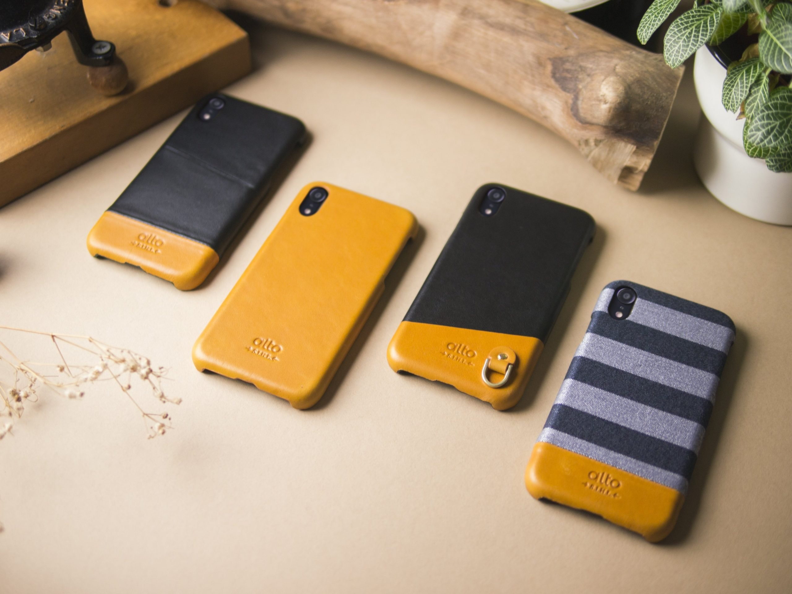 Learn all about the new Alto leather phone case series at once