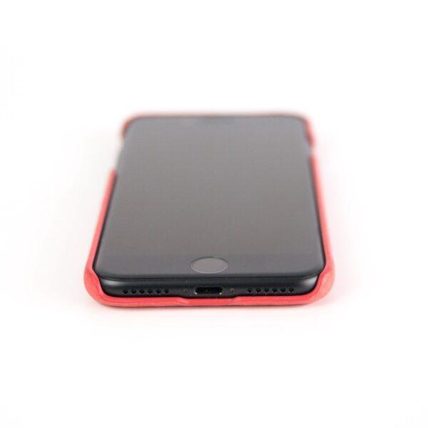 Alto Original 皮革手機殼 - 珊瑚紅(iPhone SE)