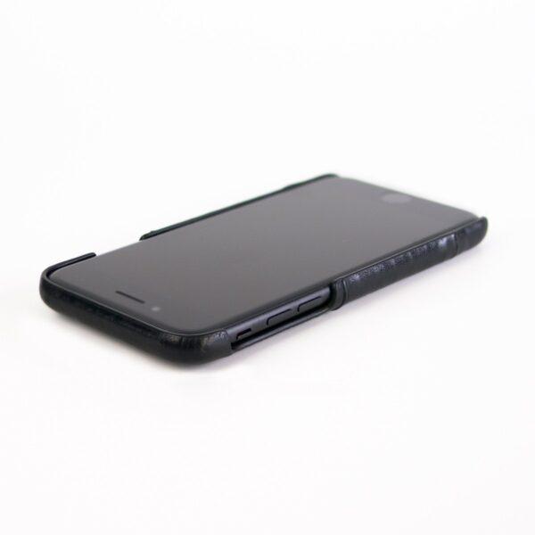 Alto Metro 皮革手機殼 - 渡鴉黑(iPhone 7 / 8)