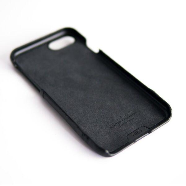 Alto Metro 皮革手機殼 - 渡鴉黑(iPhone SE)