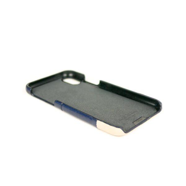 Alto Metro 皮革手機殼 - 海軍藍/本色(iPhone X / Xs)