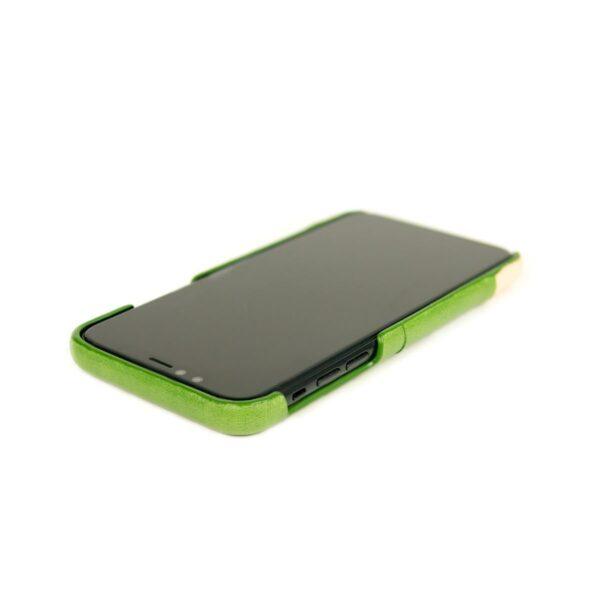 Alto Metro 皮革手機殼 - 萊姆綠(iPhone X / Xs)