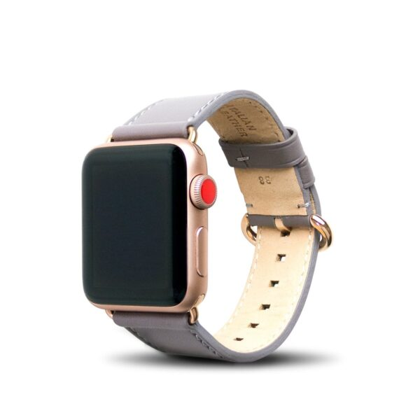 Apple Watch Leather Band 38/40/41mm - Cement Gray