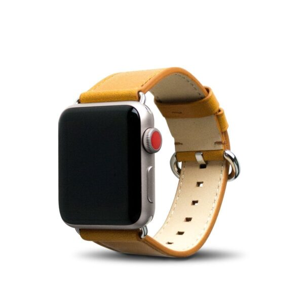 Apple Watch Leather Band 38/40/41mm - Caramel Brown