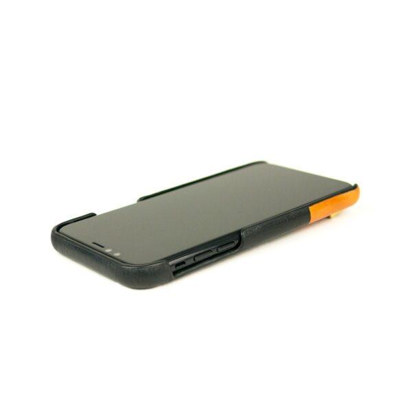 Alto Anello 皮革手機殼 - 渡鴉黑(iPhone Xs Max)