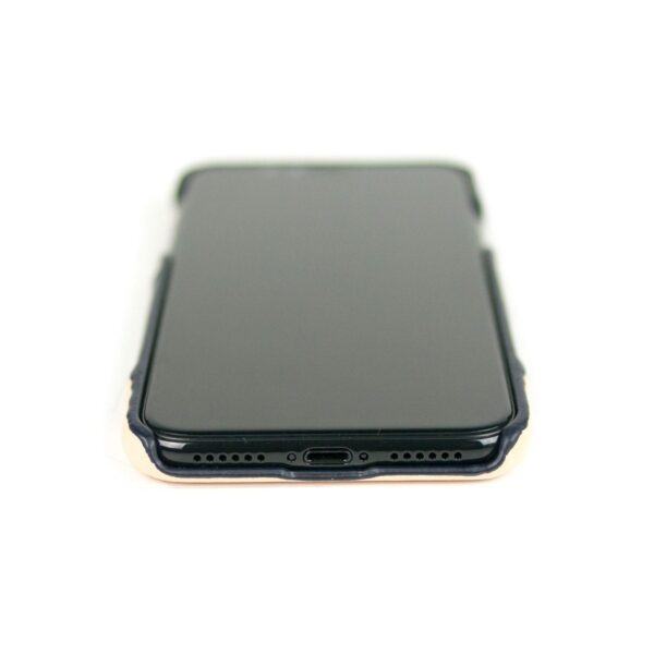 Alto Metro 皮革手機殼 - 海軍藍/本色(iPhone Xs Max)
