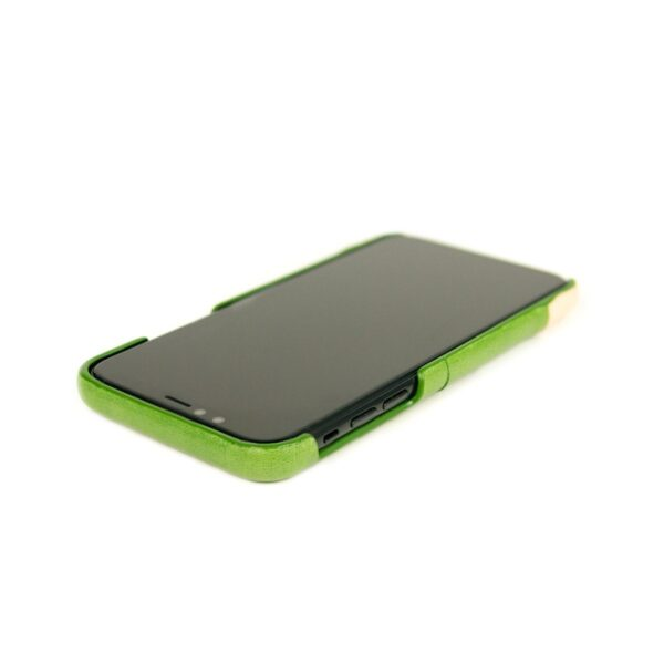 Alto Metro 皮革手機殼 - 萊姆綠(iPhone Xs Max)