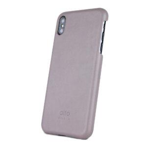 Alto Original 皮革手機殼 - 礫石灰(iPhone Xs Max)