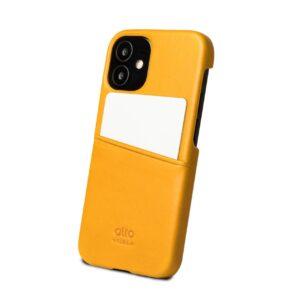 Alto Metro 皮革手機殼 - 焦糖棕(iPhone 12 mini)