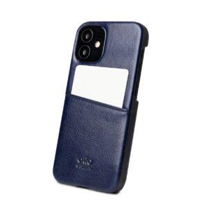 Alto Metro 皮革手機殼 - 海軍藍(iPhone 12 mini)