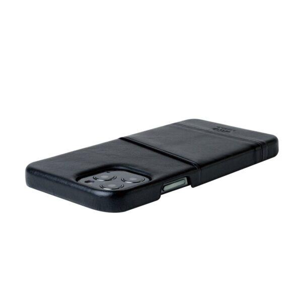 Alto Metro 皮革手機殼 - 渡鴉黑(iPhone 12 / Pro)