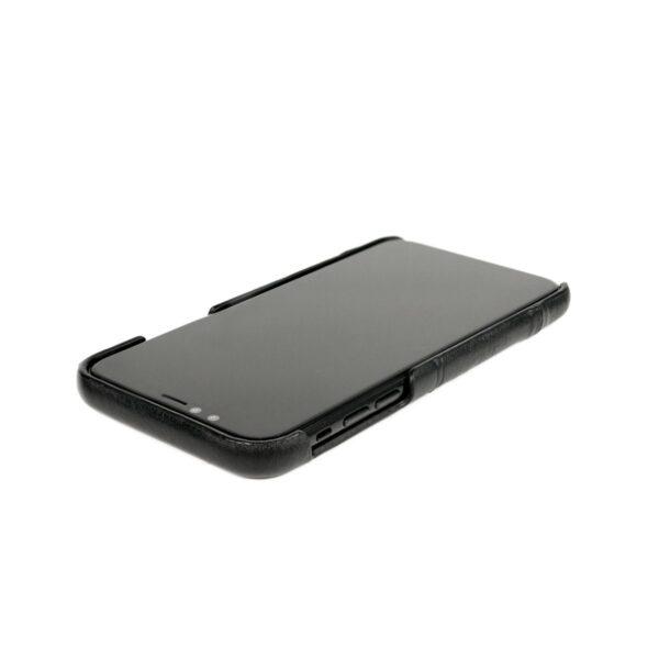 Alto Metro 皮革手機殼 - 渡鴉黑(iPhone 11)