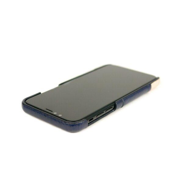 Alto Metro 皮革手機殼 - 海軍藍/本色(iPhone 11)