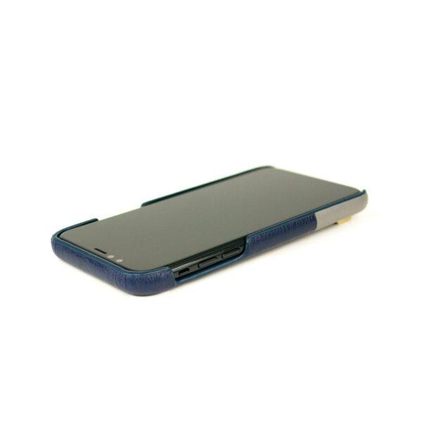 Alto Anello 皮革手機殼 - 海軍藍(iPhone 11 Pro Max)