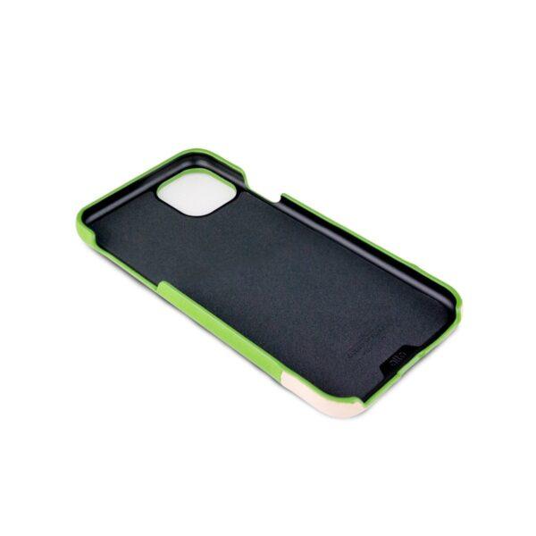 Alto Metro 皮革手機殼 - 萊姆綠(iPhone 11 Pro Max)