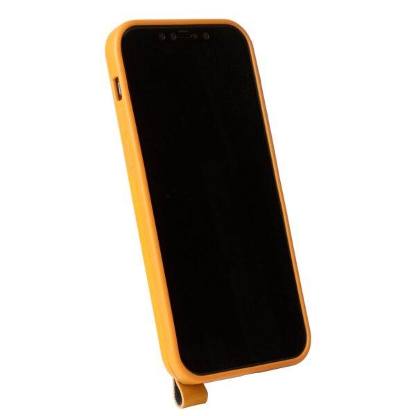 Alto Anello 360 插卡式皮革手機殼 - 焦糖棕(iPhone 12 / Pro)