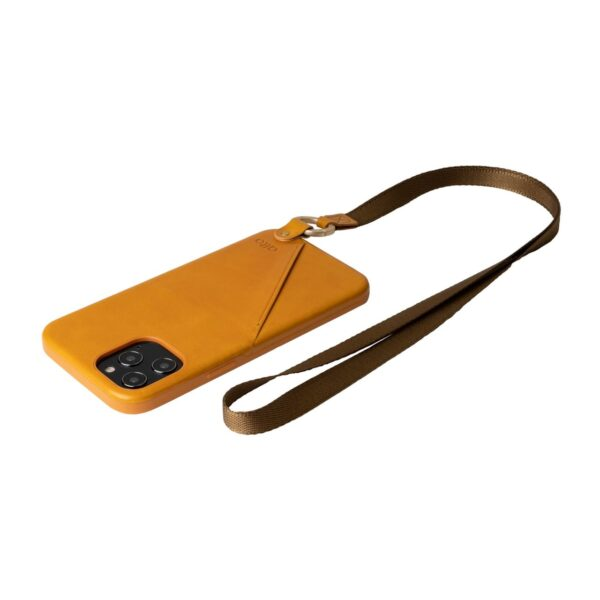 Alto Anello 360 插卡式皮革手機殼 - 焦糖棕(iPhone 12 Pro Max)