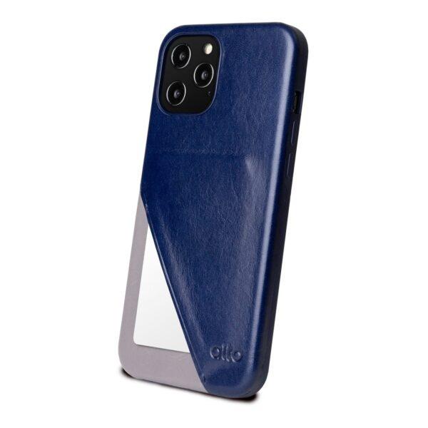 Alto Metro 360 皮革手機殼 - 海軍藍(iPhone 12 Pro Max)
