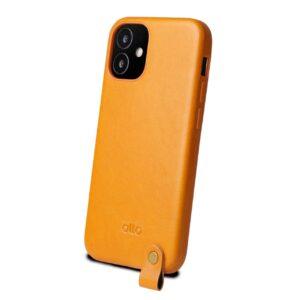 Alto Anello 360 皮革手機殼 - 焦糖棕(iPhone 12 mini)