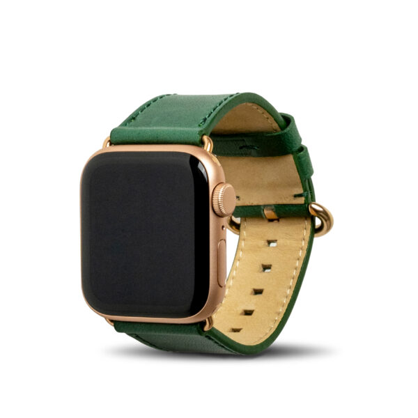 Apple Watch Leather Band 38/40/41mm - Forest Green