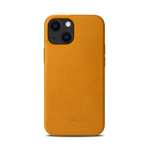 Alto iPhone 13 mini Protective Leather Case - Brown