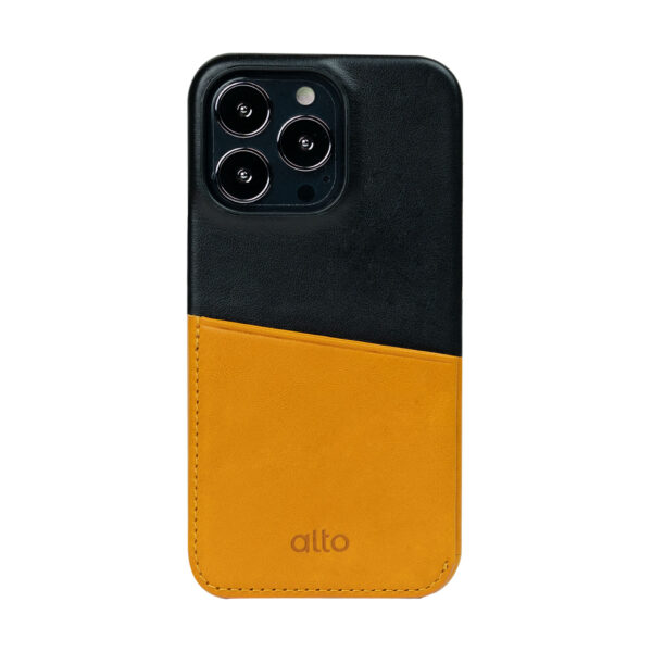 iPhone 13 Pro / Pro Max Leather Wallet Case - Brown / Black
