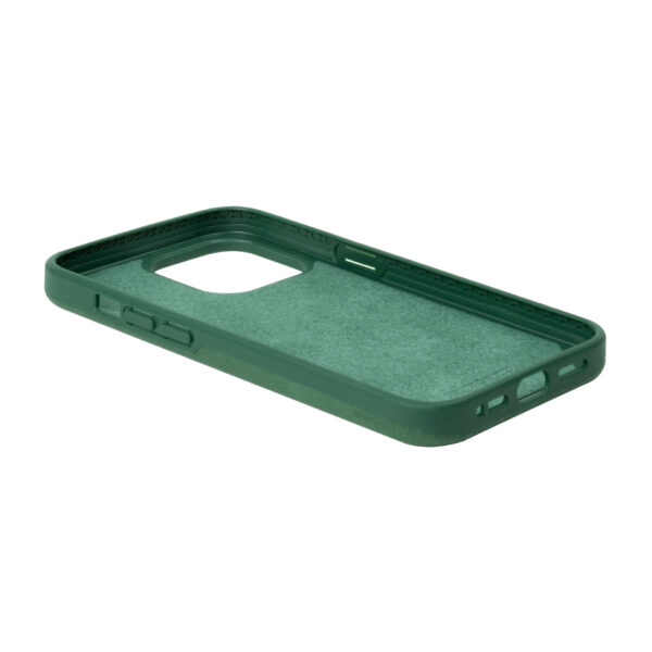 iPhone 13 Pro Protective Leather Case - Green