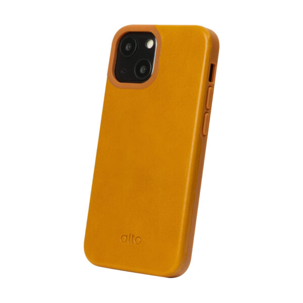 iPhone 13 Protective Leather Case - Brown