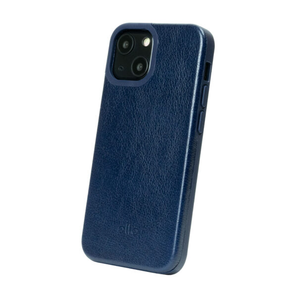 iPhone 13 Protective Leather Case - Blue