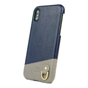 Alto Anello 皮革手機殼 - 海軍藍(iPhone X / Xs)