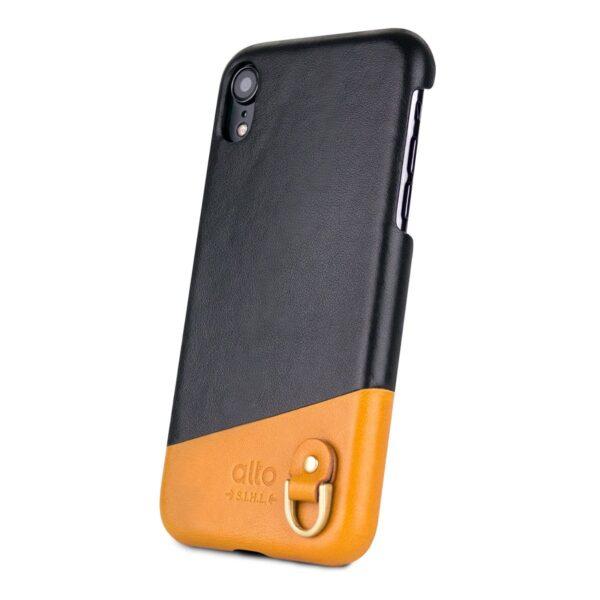 Alto Anello 皮革手機殼 - 渡鴉黑(iPhone XR)