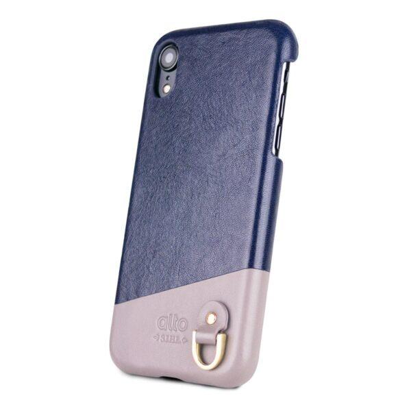 Alto Anello 皮革手機殼 - 海軍藍(iPhone XR)