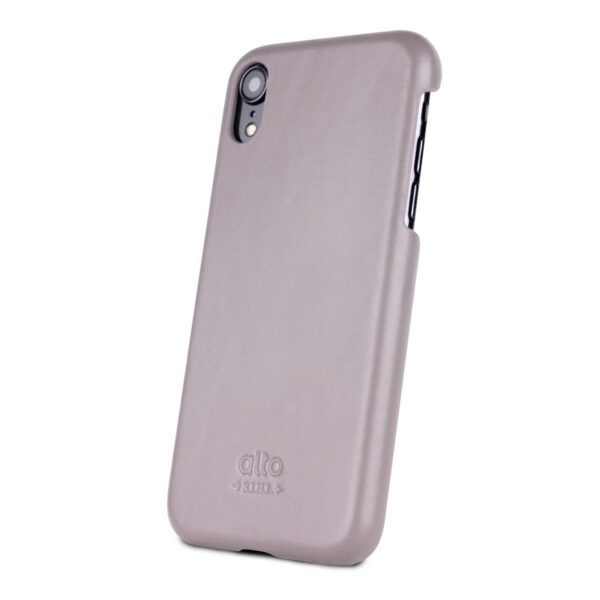Alto Original 皮革手機殼 - 礫石灰(iPhone XR)