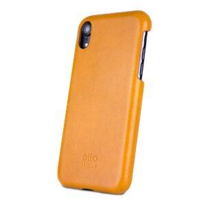 Alto Original 皮革手機殼 - 焦糖棕(iPhone XR)