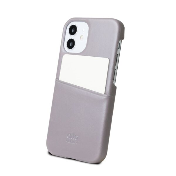 Alto Metro 皮革手機殼 - 礫石灰(iPhone 12 mini)