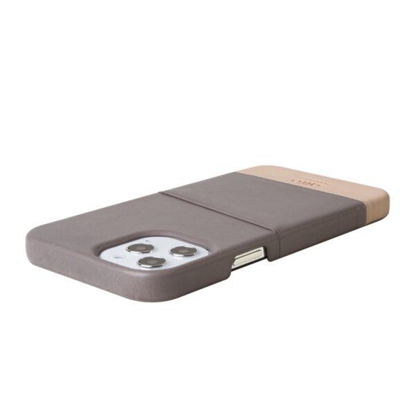 Alto Metro 皮革手機殼 - 礫石灰/本色(iPhone 12 Pro Max)