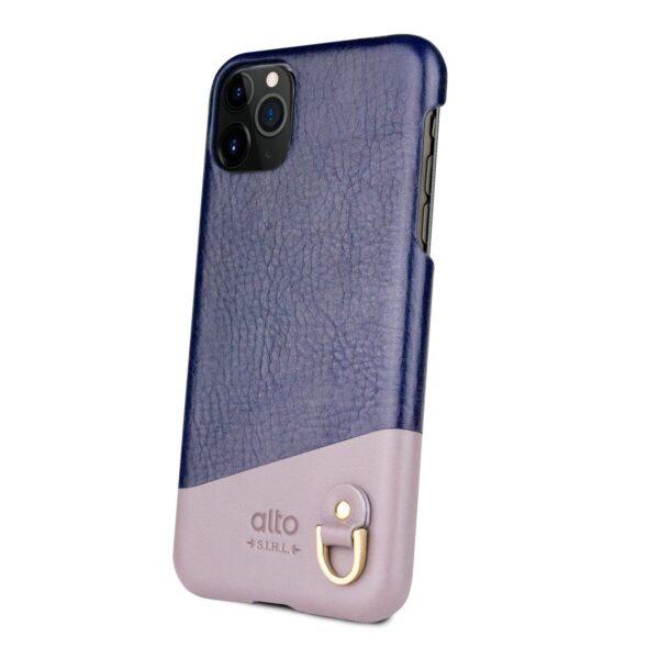 Alto Anello 皮革手機殼 - 海軍藍(iPhone 11 Pro)