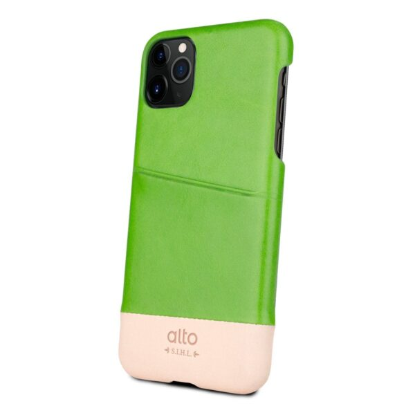 Alto Metro 皮革手機殼 - 萊姆綠(iPhone 11 Pro)