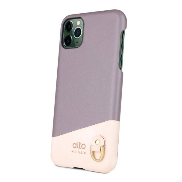 Alto Anello 皮革手機殼 - 礫石灰(iPhone 11 Pro Max)