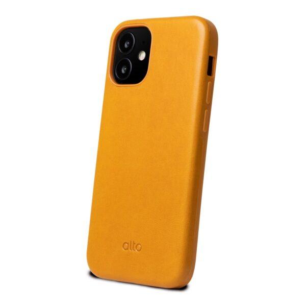 Alto Original 360 皮革手機殼 - 焦糖棕(iPhone 12 mini)
