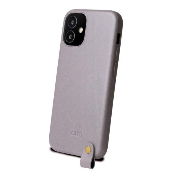 Alto Anello 360 皮革手機殼 - 礫石灰(iPhone 12 mini)