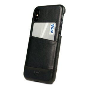 Alto Metro 皮革手機殼 - 渡鴉黑(iPhone X / Xs)