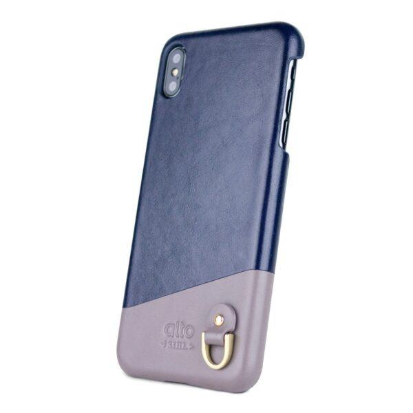 Alto Anello 皮革手機殼 - 海軍藍(iPhone Xs Max)