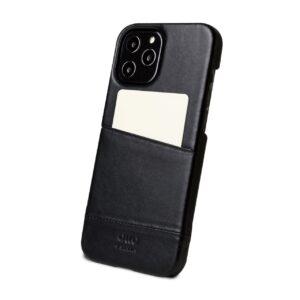Alto Metro 皮革手機殼 - 渡鴉黑(iPhone 12 Pro Max)