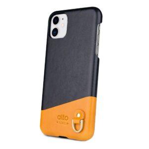 Alto Anello 皮革手機殼 - 渡鴉黑(iPhone 11)