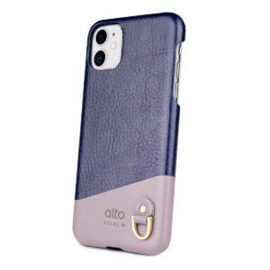 Alto Anello 皮革手機殼 - 海軍藍(iPhone 11)