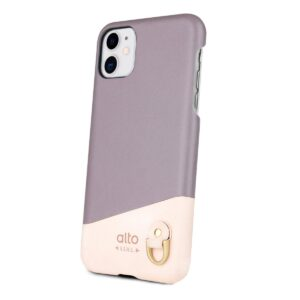 Alto Anello 皮革手機殼 - 礫石灰(iPhone 11)
