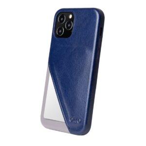 Alto Metro 360 皮革手機殼 - 海軍藍(iPhone 12 / Pro)