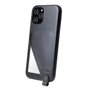 Alto Anello 360 插卡式皮革手機殼 - 渡鴉黑(iPhone 12 Pro Max)